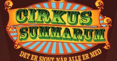 Cirkus Summarum med tegnsprogstolk – den 5. august kl 11.